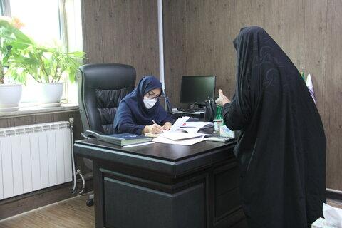 گزارش تصویری|ملاقات عمومی مدیر کل بهزیستی ایلام