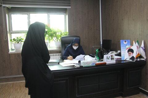 گزارش تصویری ملاقات عمومی مدیر کل بهزیستی ایلام با مددجویان