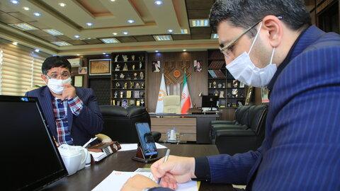 گزارش تصویری | دومین دیدار مجازی رییس سازمان بهزیستی کشور با مدیران تشکل های افراد دارای معلولیت