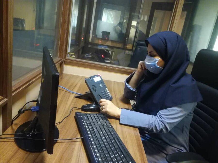آمار تماس کرونا  در استان فارس در ۶ماهه اول سال ۹۹ با خط ۱۴۸۰ در حدود ۱۲۹۹۸ تماس مشاوره ایی بوده است
