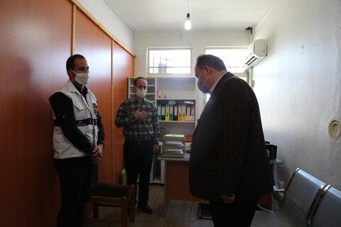 بازدید از اداره بهزیستی میاندرود