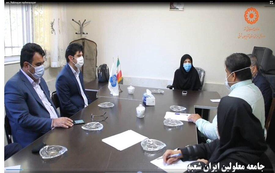 کلیپ| بازدید از انجمن ها و کانون های معلولان بهزیستی آذربایجان شرقی
