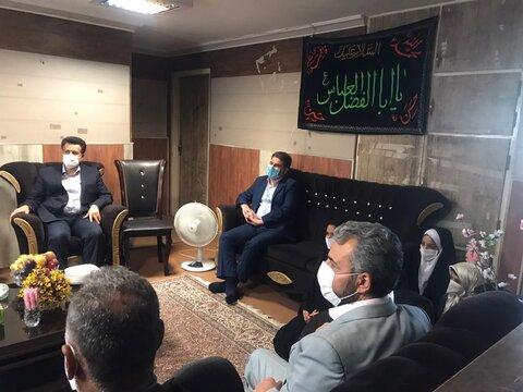 بازدید معاونین استانداری سیستان و بلوچستان