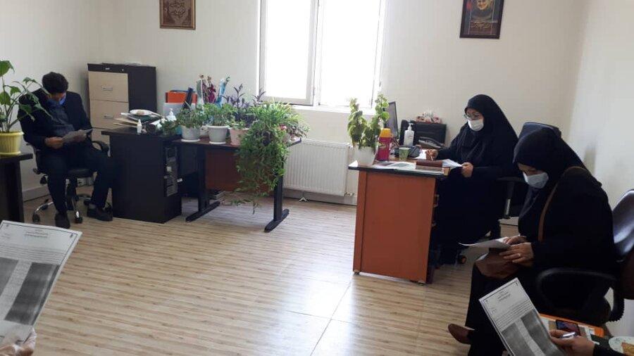 برگزاری نشست فرهنگی بهزیستی استان البرز با موضوع نماز