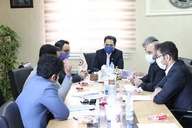 نشست مدیرکل بهزیستی گیلان در خصوص واگذاری ۲۰ واحد مسکونی مسکن مهر توانخواهان لنگرود