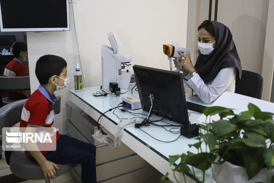 ۳۵ درصد کودکان زیر ۶ سال چهارمحال و بختیاری در طرح تنبلی چشم ارزیابی شدند
