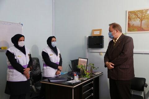 گزارش تصویری | نور| بازدید مدیر کل بهزیستی استان مازندران از اداره بهزیستی و اورژانس اجتماعی شهرستان نور