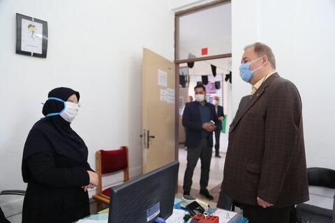 بازدید از اداره بهزیستی و اورژانس اجتماعی نور