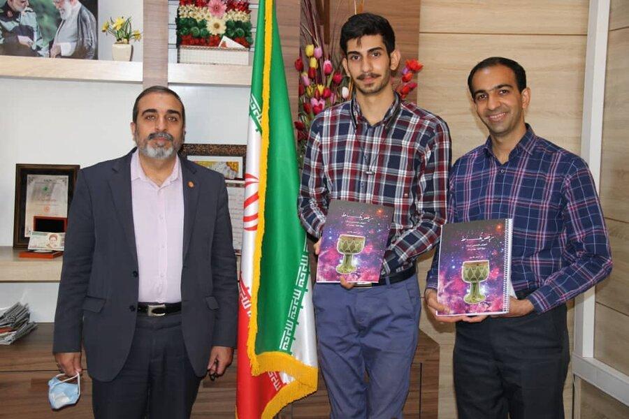 اولین کتاب تخصصی موسیقی در زمینه آموزش مبانی موسیقی و نوازندگی سازهای کوبهای ویژه نابینایان در استان فارس