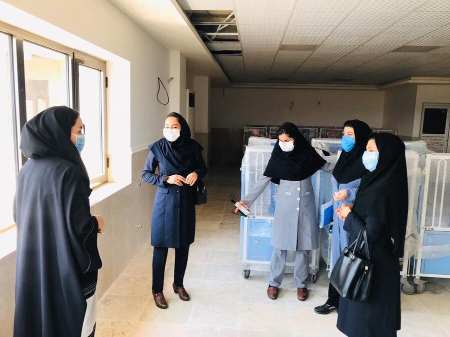 بازدید از ساختمان جدید مرکز توانبخشی مراقبتی نیلوفران آبی