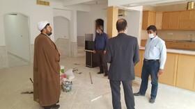 بازدید  مدیر کل بهزیستی استان قم از مراحل تجهیز و آماده سازی مراکز مثبت زندگی