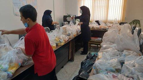 گزارش تصویری| شمیرانات| روند آماده سازی بسته حمایتی در مراکز دولتی بهزیستی شمیرانات  در قالب پویش سراسری ایران همدل