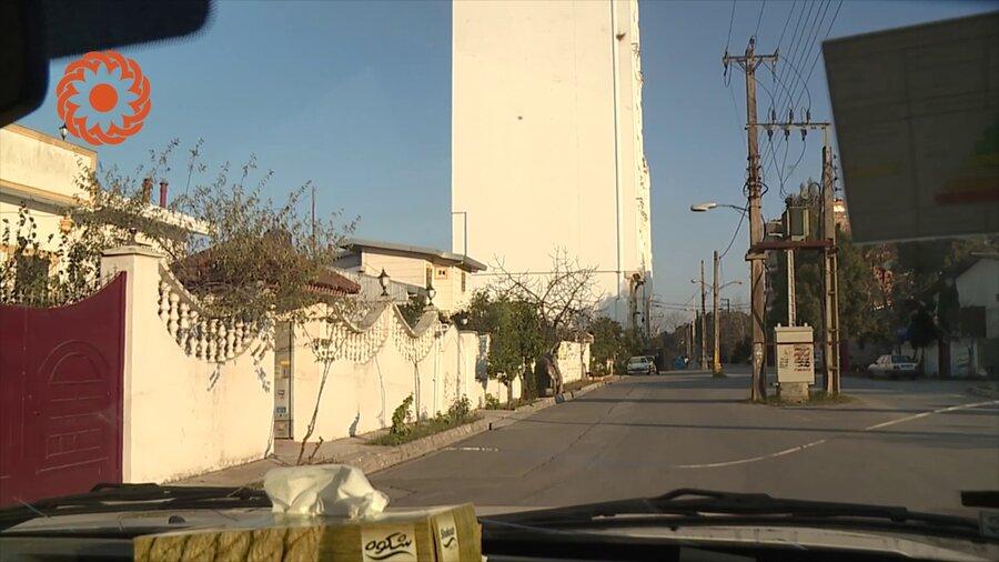 برج های مسکونی ضلع جنوبی اردوگاه شهید عظیمی بابلسر