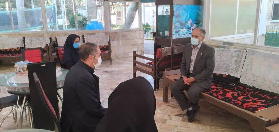 گزارش تصویری بازدید معاون توانبخشی بهزیستی استان تهران از مراکز بهزیستی شهرستان اسلامشهر