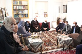 اصفهان|گزارش تصویری| دیدار با خانواده شهید حسن غازی