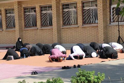 گزارش تصویری | نماز جماعت