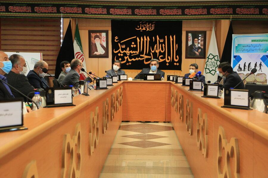 گزارش تصویری | دوازدهمین جلسه ستاد هماهنکی و پیگیری  مناسب سازی کشور برگزار شد
