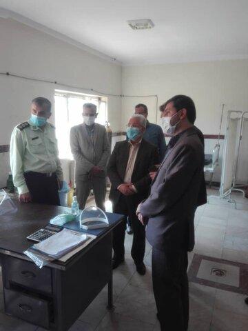 کبودراهنگ| بازدید ازمرکز نگهداری، درمان وکاهش آسیب معتادان موضوع ماده 16