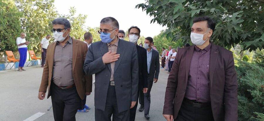 گزارش تصویری| بازدید دادستان عمومی و انقلاب استان از مراکز توانبخشی