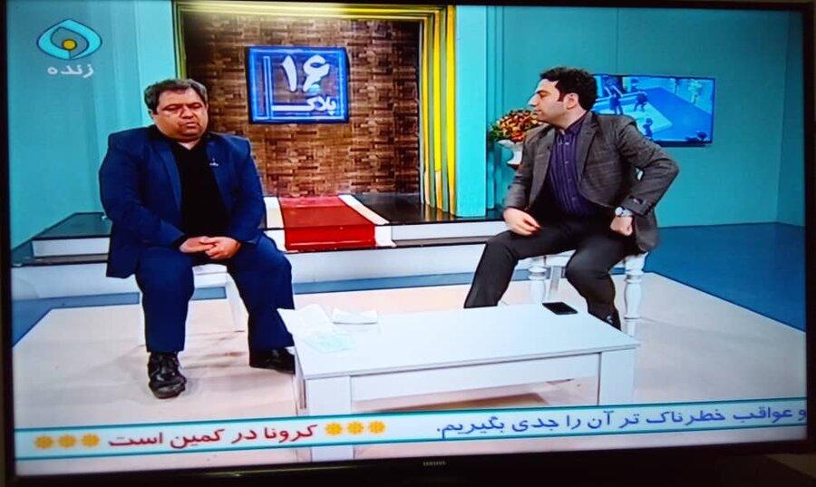 مهندس محمدرضا لاری پور معلول موفق و کارآفرین میهمان امشب برنامه پلاک 16