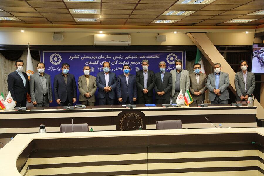 گزارش تصویری | نشست هم اندیشی رئیس سازمان با مجمع نمایندگان استان گلستان