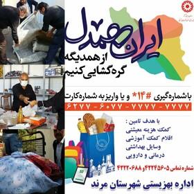 کمک یک میلیاردی خیرین مرندی به ایران همدل