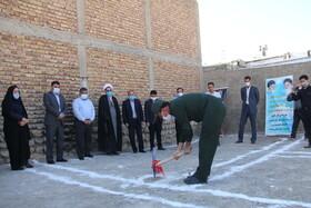 ساخت مسکن ویژه مددجویان ایلام با مشارکت قرارگاه سازندگی خاتم الانبیا(ص) کلید خورد