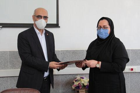 انتصاب سرپرست جدید اداره بهزیستی شهرستان سمنان