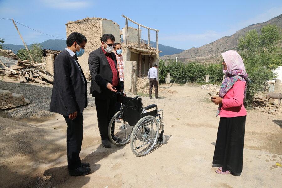 خسارت ۱۰ میلیاردی زلزله رامیان به مددجویان سازمان بهزیستی