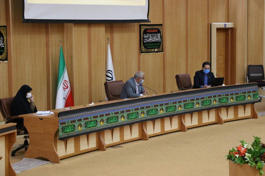 دومین جلسه ستاد هماهنگی و پیگیری مناسب سازی استان گیلان