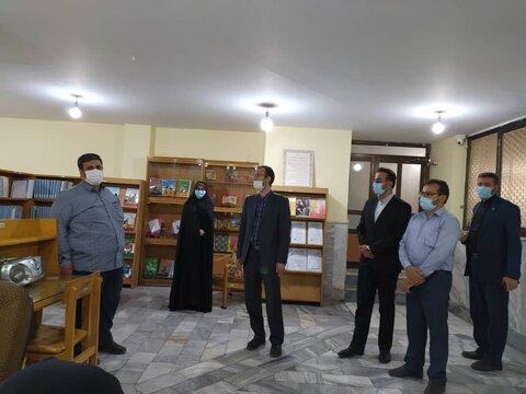 بازدید مدیر کل بهزیستی استان قم از اداره کل کتابخانه های استان قم