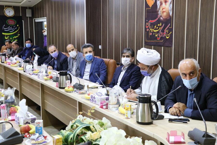 ششمین جلسه شورای هماهنگی مدیران استان در خصوص بررسی مشکلات سیل تالش