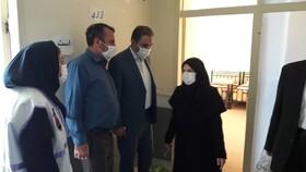 گزارش تصویری| بازدید از محل اورژانس اجتماعی شهرستان مراغه