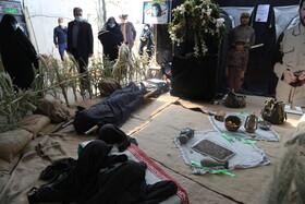 گزارش تصویری | بازدید کارکنان اداره کل بهزیستی مازندران از موزه دفاع مقدس استان