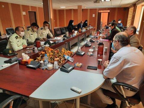 برگزاری جلسه ای با هدف تعامل بین بخشی حوزه نظام وطیفه و بهزیستی استان