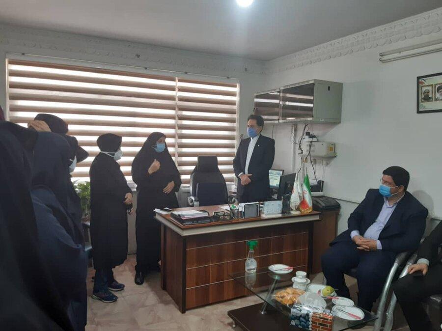 دیدار دکتر حسین نحوی نژاد با همکاران اداره بهزیستی شهرستان املش