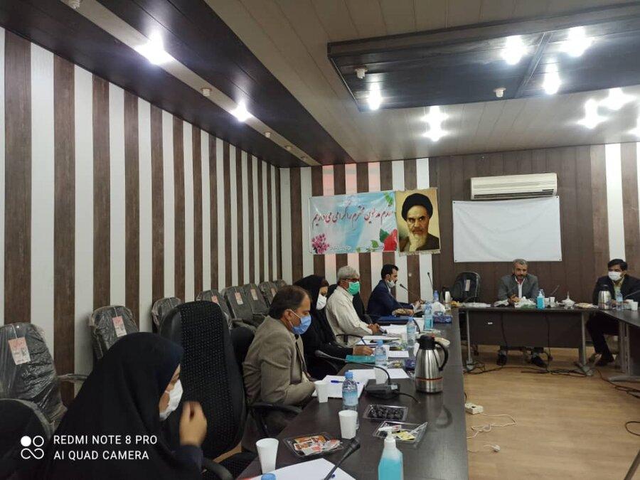 برگزاری شورای معاونین اداره کل بهزیستی سیستان و بلوچستان در شهرستان زابل