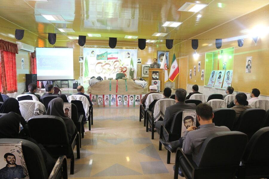 آیین نامگذاری دو ساختمان اداری و رفاهی بهزیستی استان با نام شهدای دفاع مقدس