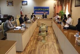 معاون هماهنگی موسسات غیردولتی ، مشارکتهای مردمی و اشتغال از شهرستانهای ایرانشهر و بمپور بازدید کرد