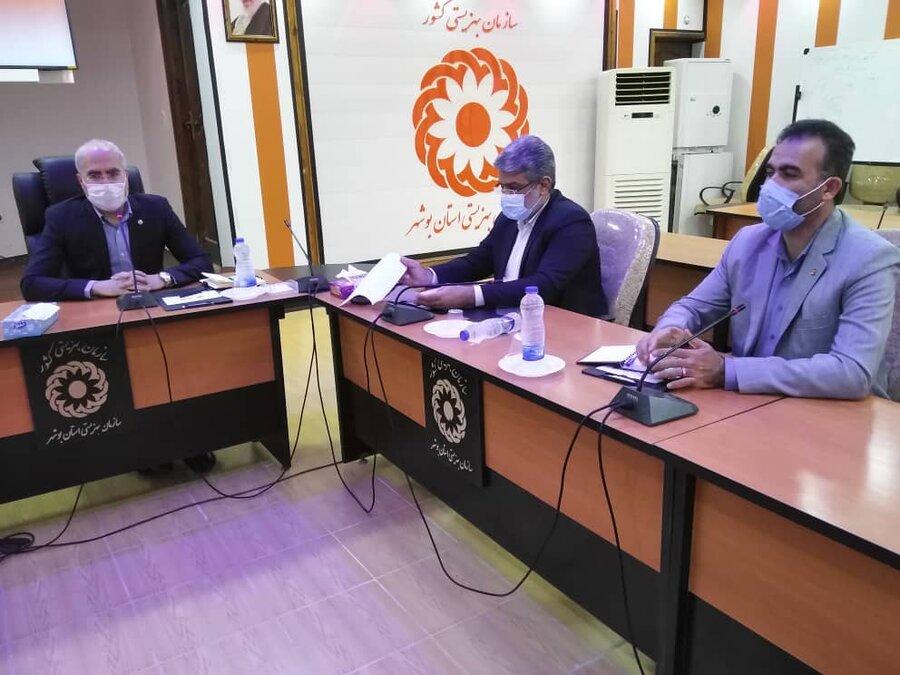 دهمین جلسه شورای معاونین اداره کل بهزیستی استان برگزار شد