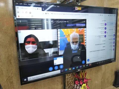 با هم ببینیم |ملاقات عمومی مدیرکل بهزیستی بوشهر به صورت آنلاین برگزار شد