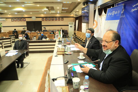 نشست ویدبو کنفرانس وزیرتعاون دکتر شریعتمداری و دکتر قبادی دانا با موسسات غیر دولتی فعال در حوزه ناشنوایان کشور