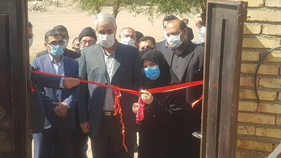 افتتاح خانه محروم در دولت آباد