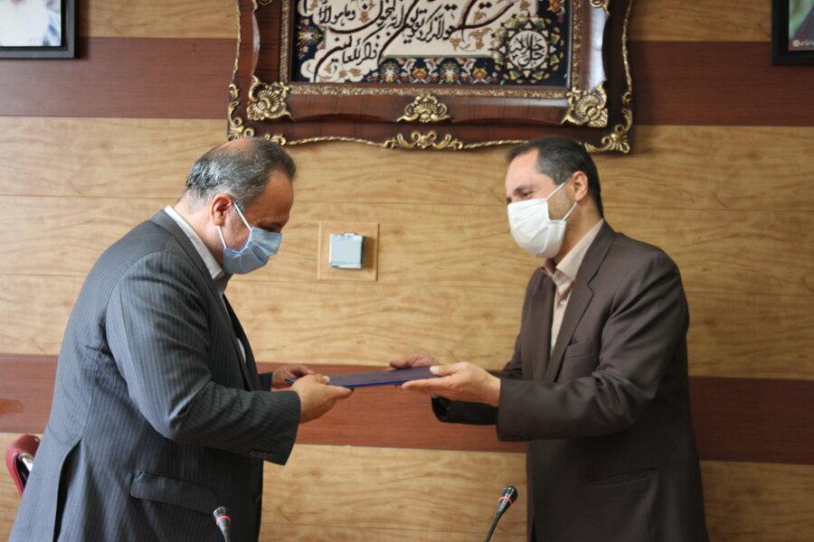 معاون جدید توسعه، پشتیبانی و منابع انسانی بهزیستی استان تهران معرفی شد
