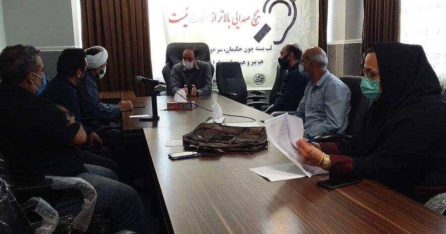 دیدار مدیرکل بهزیستی گلستان با جمعی از ناشنوایان سراسر استان