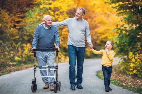 اتخاذ روشهای حمایتی برای تکریم سالمندان بر پایه سیاستهای کلی خانواده
