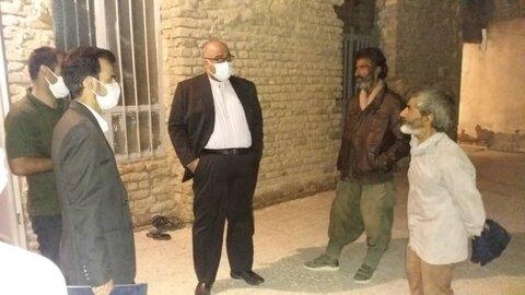بازدید سرزده معاون امورتوسعه پیشگیری از مراکز سرپناه شبانه شهرستان زابل