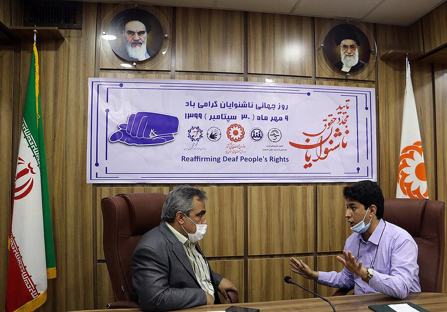 بیش از ۴۵۰۰ نفر ناشنوا تحت پوشش بهزیستی استان یزد هستند