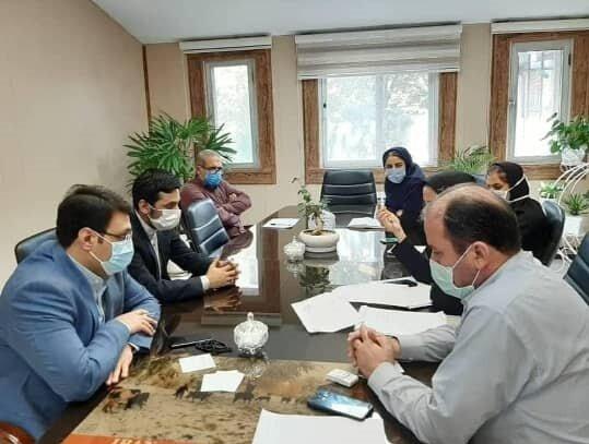 نشست مشترک معاونت امور اجتماعی اداره کل بهزیستی مازندران با مدیر بیمه اجتماعی روستائیان و عشایر استان