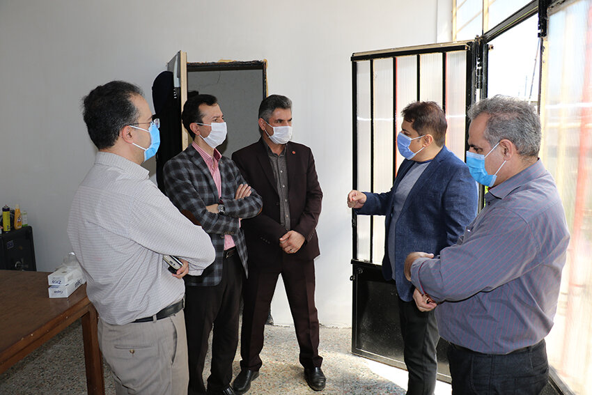 بازدید از مرکز جامع درمان اعتیاد بهار با هدف تکمیل فرایند درمان در رشت